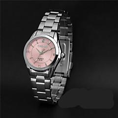 LONGBO Γυναικεία Μοδάτο Ρολόι Προσομοίωσης Ρόμβος Ρολόι Χαλαζίας / απομίμηση διαμαντιών κράμα Μπάντα Καθημερινά Ασημί