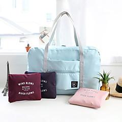 حقيبة السفر حقيبة يد منظم أغراض السفر حقيبة صغيرة للكتف مقاوم للماء المحمول قابلة للطى تخزين السفر متعددة الوظائف سعة كبيرة إلى ملابس
