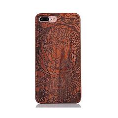 Для Защита от удара С узором Рельефный Кейс для Задняя крышка Кейс для Животный принт Твердый Дерево для AppleiPhone 7 Plus iPhone 7