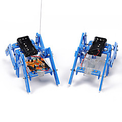Crab Kingdom DIY Science And Technology Small Production Teaching Material Hexapod Robot Model Assemble Parent-child Handmade Toy (Normal Edition)
