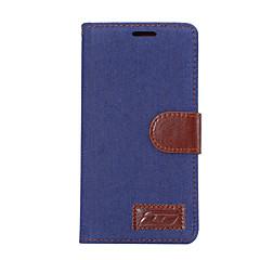 Для Бумажник для карт со стендом Флип Кейс для Чехол Кейс для Один цвет Твердый Искусственная кожа для SonySony Xperia X Performance Sony