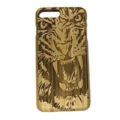 Для Рельефный Кейс для Задняя крышка Кейс для Животный принт Твердый Дерево для Apple iPhone 7 Plus