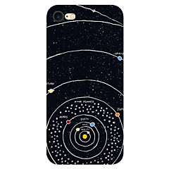 Til iPhone X iPhone 8 iPhone 7 iPhone 7 Plus iPhone 6 Etuier Ultratyndt Mønster Bagcover Etui Himmel Landskab Blødt TPU for Apple iPhone