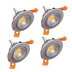 voordelige Binnenverlichting-Plafondlampen Verzonken ombouw leds COB 400-500lm Warm wit Koel wit Dimbaar AC 220-240