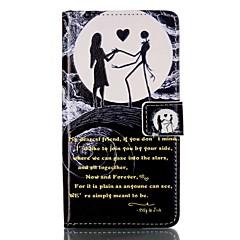 Для Кошелек Бумажник для карт со стендом Флип С узором Магнитный Кейс для Чехол Кейс для Череп Твердый Искусственная кожа для Sony Other