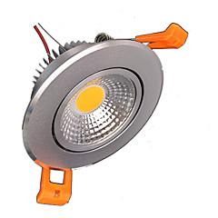 z®zdm 5W 500-550lm wsparcie ściemniania doprowadziły lampek panelu ciepły biały zimny biały biały naturalny AC110V / 220V / 12V
