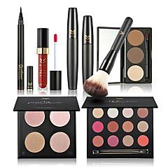 Oogschaduw Mascara's Eyeliners Wenkbrauwen+Lipgloss+Make-up borstels Ogen Gezicht Lippen