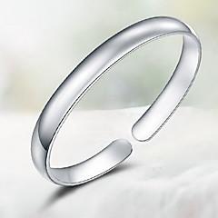 Браслет цельное кольцо Природа Простой стиль Стерлинговое серебро Бижутерия Бижутерия Назначение