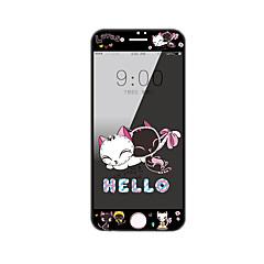 для Apple Iphone 7 плюс протектора экрана закаленного стекла 5,5 дюйма с мягким краем полного охват экрана шаблоном переднего экрана