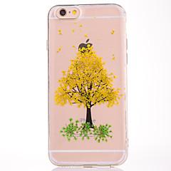Для IMD Рельефный С узором Кейс для Задняя крышка Кейс для дерево Мягкий TPU для AppleiPhone 7 Plus iPhone 7 iPhone 6s Plus/6 Plus iPhone