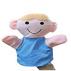 abordables Marionetas-Marionetas de dedo Novedades Textil Algodón Niños Chica Juguet Regalo 1 pcs