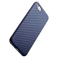 Недорогие Кейсы для iPhone 6 Plus-Кейс для Назначение Apple iPhone 7 Plus iPhone 7 Защита от влаги Ультратонкий Кейс на заднюю панель Сплошной цвет Мягкий ТПУ для iPhone 7