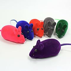 Kattenspeeltje Hondenspeeltje Huisdierspeeltjes kauwspeeltjes Interactief Piepend Speelgoed piepen Muis Rubber