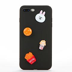Недорогие Кейсы для iPhone 6-Для Своими руками Кейс для Задняя крышка Кейс для 3D в мультяшном стиле Мягкий Силикон для AppleiPhone 7 Plus iPhone 7 iPhone 6s Plus