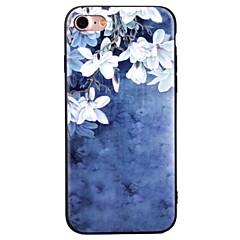 Для С узором Кейс для Задняя крышка Кейс для Цветы Мягкий TPU для Apple iPhone 7 Plus iPhone 7 iPhone 6s Plus/6 Plus iPhone 6s/6