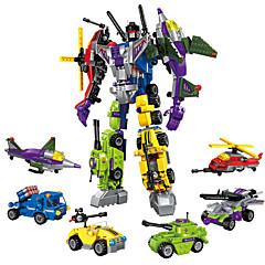 저렴한 -ENLIGHTEN 로봇 조립식 블럭 506 pcs 변형 가능 전사 기계 로봇 아동용 여아 남아 선물