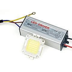 billige LED-tilbehør-1pc 110-240 V Vandtæt Strøm Forsyning
