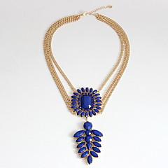 preiswerte Halsketten-Damen Mehrschichtig Anhängerketten / Layered Ketten - Personalisiert, Europäisch, Modisch, Euramerican Hellblau Modische Halsketten Schmuck Für Party, Besondere Anlässe, Verlobung