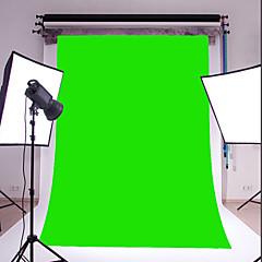3x5ft vinilo verde fotografía fina telón de fondo del estudio apoyo de la foto