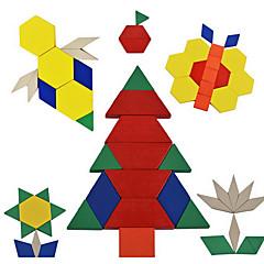 Bildungsspielsachen Holzpuzzle Spielzeuge Neuheit Mädchen Jungen 1 Stücke