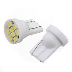 お買い得  カーアクセサリー-2pcs T10 車載 電球 4W SMD 3014 280lm LED 外部照明