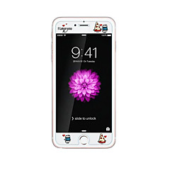 для Apple Iphone 6 / 6с 4.7inch закаленное стекло прозрачно протектор передний экран с выбивают мультфильм шаблон свечения в темноте торт