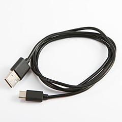 USB 2.0 Tyyppi C Kannettava Kaapeli Käyttötarkoitus Samsung Huawei Sony Nokia HTC Motorola LG Lenovo Xiaomi 100 cm PVC
