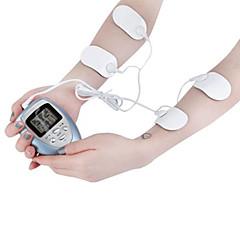 abordables Lo Más Popular-4 almohadillas completo masajeador corporal adelgazante eléctrica del músculo del pulso delgado relajarse quemador de grasa