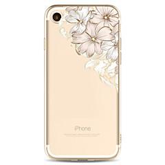 Недорогие Кейсы для iPhone 6-Кейс для Назначение Apple iPhone X iPhone 8 Plus С узором Кейс на заднюю панель Цветы Мягкий ТПУ для iPhone X iPhone 8 Pluss iPhone 8