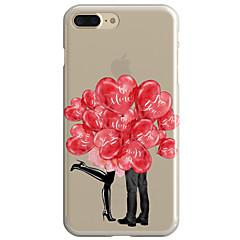 Для Прозрачный С узором Кейс для Задняя крышка Кейс для Занавес Мягкий TPU для AppleiPhone 7 Plus iPhone 7 iPhone 6s Plus/6 Plus iPhone