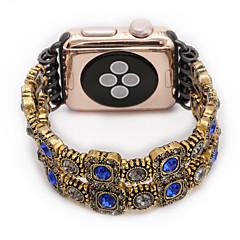 Νεφρίτη αχάτη μαργαριτάρι χάντρες λουράκι χειροποίητο κόσμημα για το μήλο ρολόι iwatch 38mm 42mm