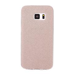 Χαμηλού Κόστους Galaxy S6 Θήκες / Καλύμματα-tok Για Samsung Galaxy S7 edge S7 Παγωμένη Πίσω Κάλυμμα Λάμψη γκλίτερ Μαλακή TPU για S7 edge S7 S6 edge plus S6 edge S6