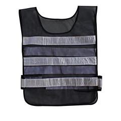 Colete reflexivo que trabalha roupas destaca refletor listra