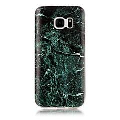 Χαμηλού Κόστους Galaxy S3 Θήκες / Καλύμματα-tok Για Samsung Galaxy S7 edge S7 IMD Με σχέδια Πίσω Κάλυμμα Μάρμαρο Μαλακή TPU για S7 edge S7 S6 edge S6 S5 S4 S3