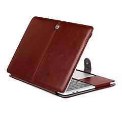 voor MacBook Pro 15.4 13.3 nieuwe pro15.4 13.3 inch tablet luxe ultraslanke magnetische Folio Stand Crazy Horse patroon lederen case cover