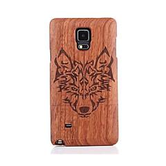 Для С узором Кейс для Задняя крышка Кейс для Животный принт Твердый Дерево для Samsung Note 5 Note 4