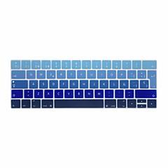 お買い得  MAC 用キーボード カバー-xskn®ヨーロッパスペイン勾配シリコンキーボードスキンやタッチバー網膜と13.3 / 15.4プロ2016の最新のMacBook用touchbarプロテクター