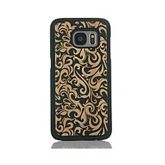 Etui Til Samsung Galaxy S7 edge S7 Mønster Bakdeksel Blomsternål i krystall Hard Bambus til S7 edge S7 S6 edge S6