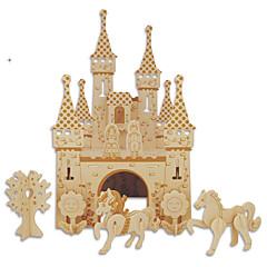 abordables Disfraces de Santa-Puzzles de Madera Juguetes Castillo Edificio Famoso Arquitectura China Casa Nivel profesional 1 Piezas