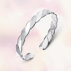 Браслет цельное кольцо Природа Мода Стерлинговое серебро Бижутерия Бижутерия Назначение