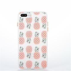 Для Сияние в темноте С узором Кейс для Задняя крышка Кейс для Фрукт Мягкий TPU для AppleiPhone 7 Plus iPhone 7 iPhone 6s Plus iPhone 6