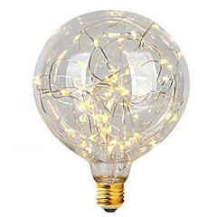 1本のe27 g95の星の光3wのフィラメント電球のクリスマスの文字列の照明装飾休日の光ac85-265v