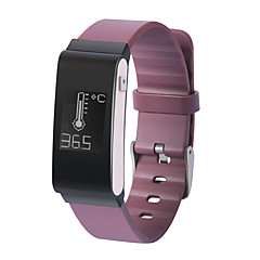 Je a22 mannenvrouw slimme armband / smarwatch / hartslagmeter sm wristband slaapmeter pedometer temperatuur waterdicht voor iOS