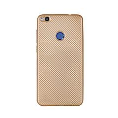 Недорогие Кейсы для Huawei других серий-Кейс для Назначение Huawei Honor 5C Huawei Наслаждайтесь 5S Huawei Ультратонкий Кейс на заднюю панель Сплошной цвет Мягкий Углеродное