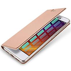 tanie Etui / Pokrowce do Xiaomi-Na Etui na karty Flip Magnetyczne Kılıf Futerał Kılıf Jeden kolor Twarde Skóra PU na XiaomiXiaomi Redmi 4 Xiaomi Redmi Note 4 Xiaomi Mi