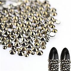 About 500pcs/bag Nail Art dekoráció strasszos gyöngy smink Kozmetika Nail Art Design