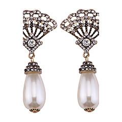 preiswerte Ohrringe-Damen Tropfen-Ohrringe - Perle Personalisiert, Bikini, Modisch Weiß Für Hochzeit Party Abschluss