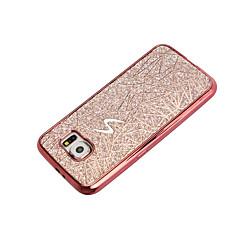 Varten Pinnoitus Etui Takakuori Etui Kiiltävä Pehmeä TPU varten Samsung S7 edge S7 S6 edge S6 S5 Mini S5