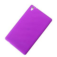 halpa Tablettikotelot-Etui Käyttötarkoitus Huawei Takakuori tabletti Kotelot Yhtenäinen väri Pehmeä Silikoni varten