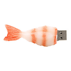ieftine -creveți 32gb USB2.0 cauciuc unitate flash disc